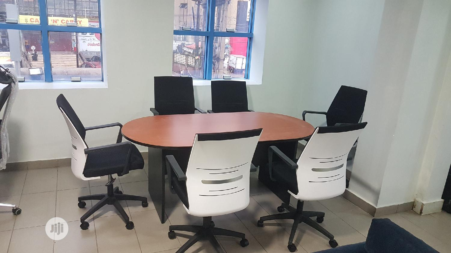 Six Seater Conference Table.