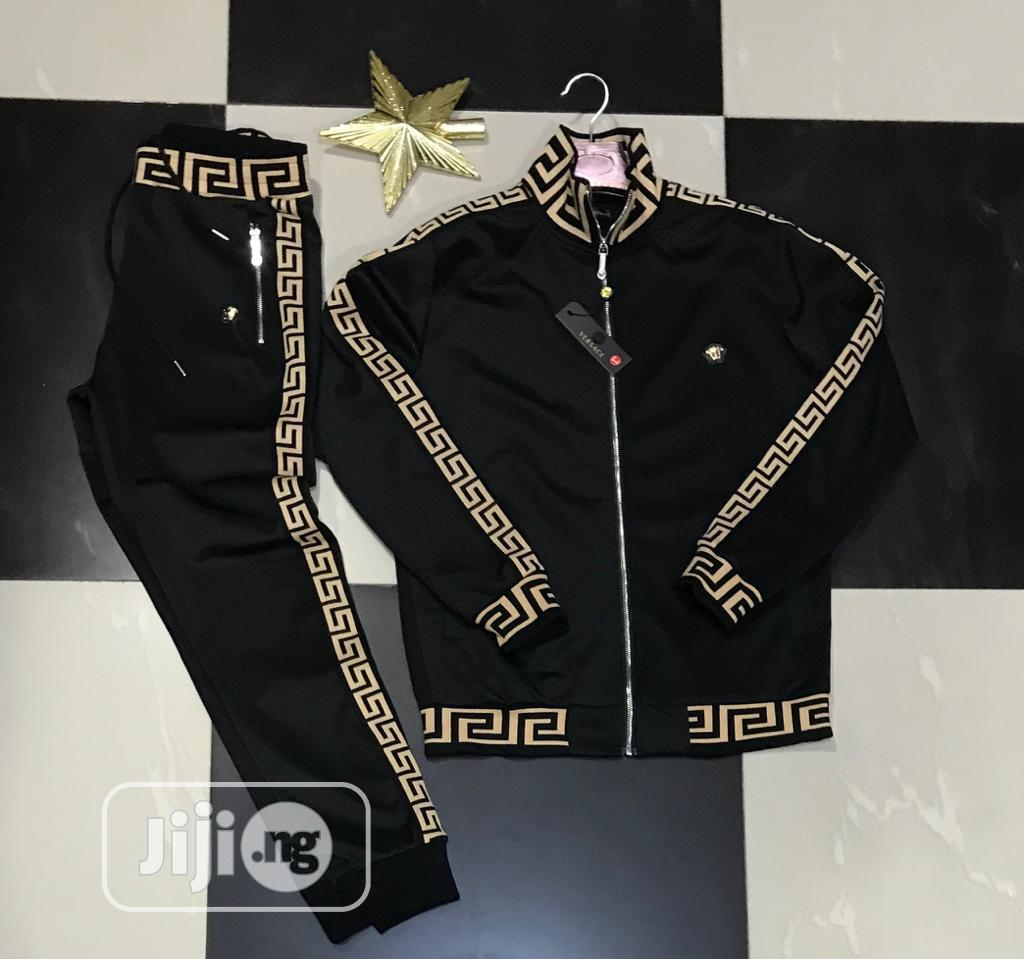 Designer Hoodie Tracksuit Set With Joggers for Men | Clothing for sale in Lagos Island (Eko), Lagos State, Nigeria