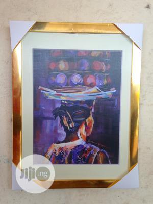 Orange Seller Art Print   Arts & Crafts for sale in Lagos State, Alimosho