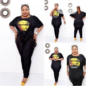 New Female Turkey Black Top and Trousers | Clothing for sale in Lagos State, Lagos Island (Eko)