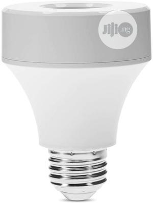 Wifi Light Bulb Socket E26/ E27, Smart LED Bulb Adapter Wireless Lamp   Security & Surveillance for sale in Lagos State, Amuwo-Odofin