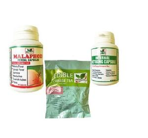 Edible Herbs Ltd Supplement Combo for Stubborn Typhoid and Malaria | Vitamins & Supplements for sale in Lagos State, Agege