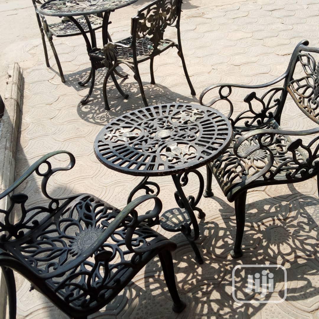 High Quality Wrought Iron Garden Chair