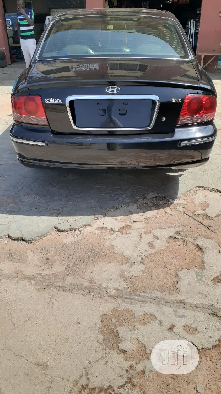 Hyundai Sonata 2005 2.0 GLS Black | Cars for sale in Ibadan, Oyo State, Nigeria