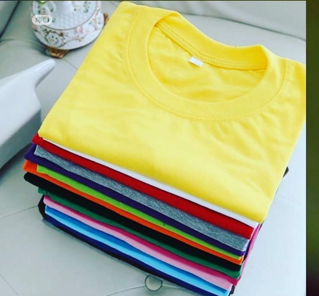 Plain Tshirts With Cap | Clothing Accessories for sale in Kosofe, Lagos State, Nigeria