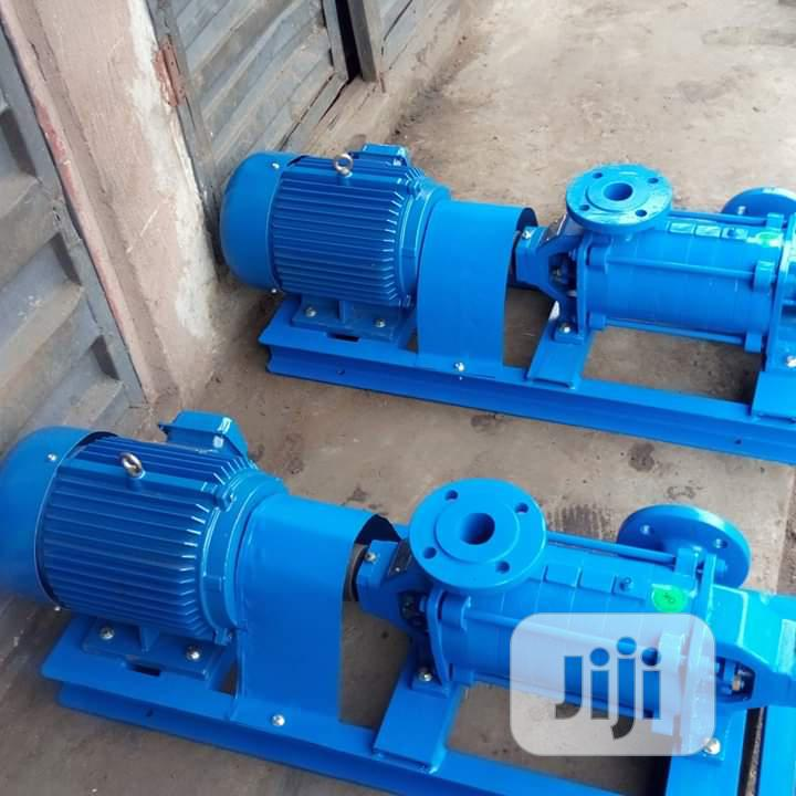 High Pressure Multistage Horizontal Pump More Than 25bar
