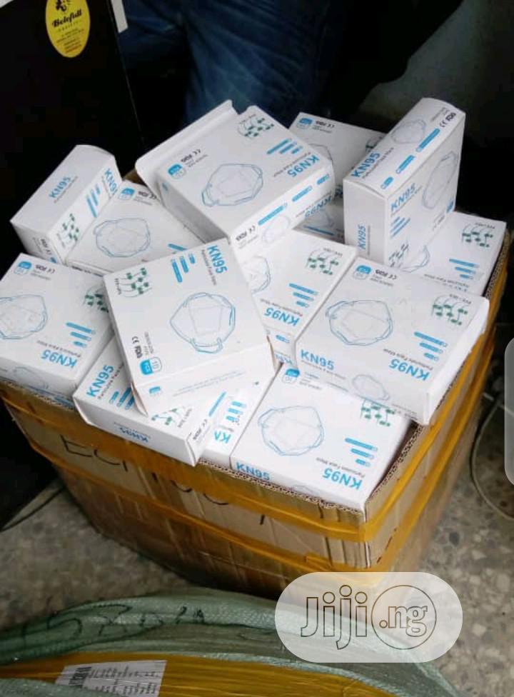 Original N95 (KN95) Grade B Face / Nose Respirator Mask. | Medical Equipment for sale in Ilupeju, Lagos State, Nigeria