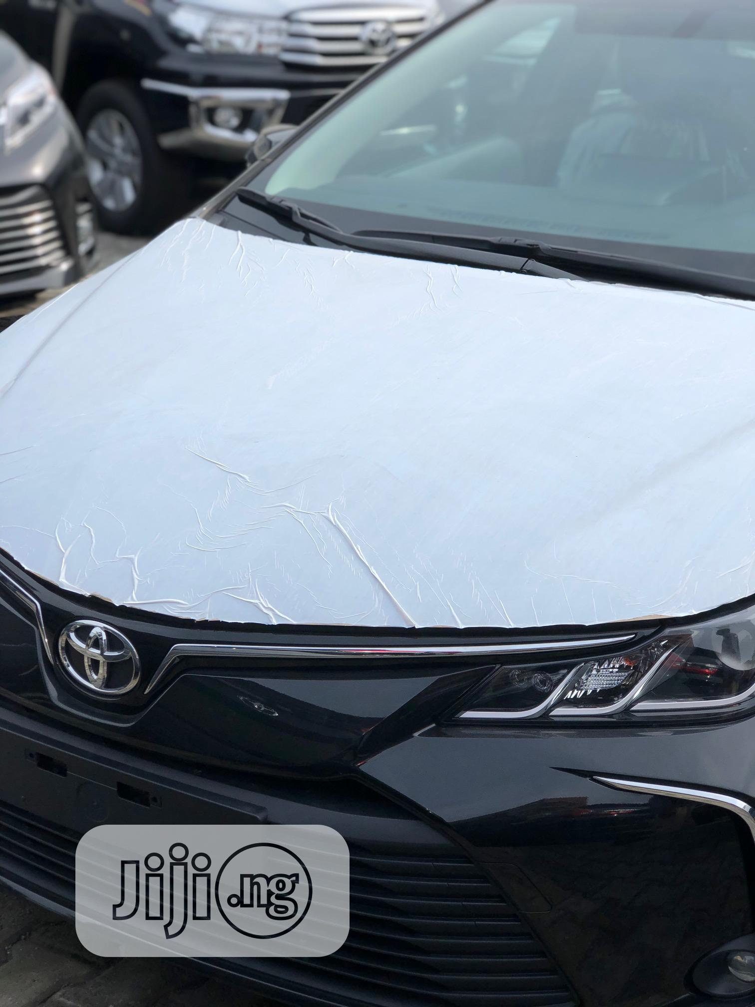 Archive: New Toyota Corolla 2020 Black
