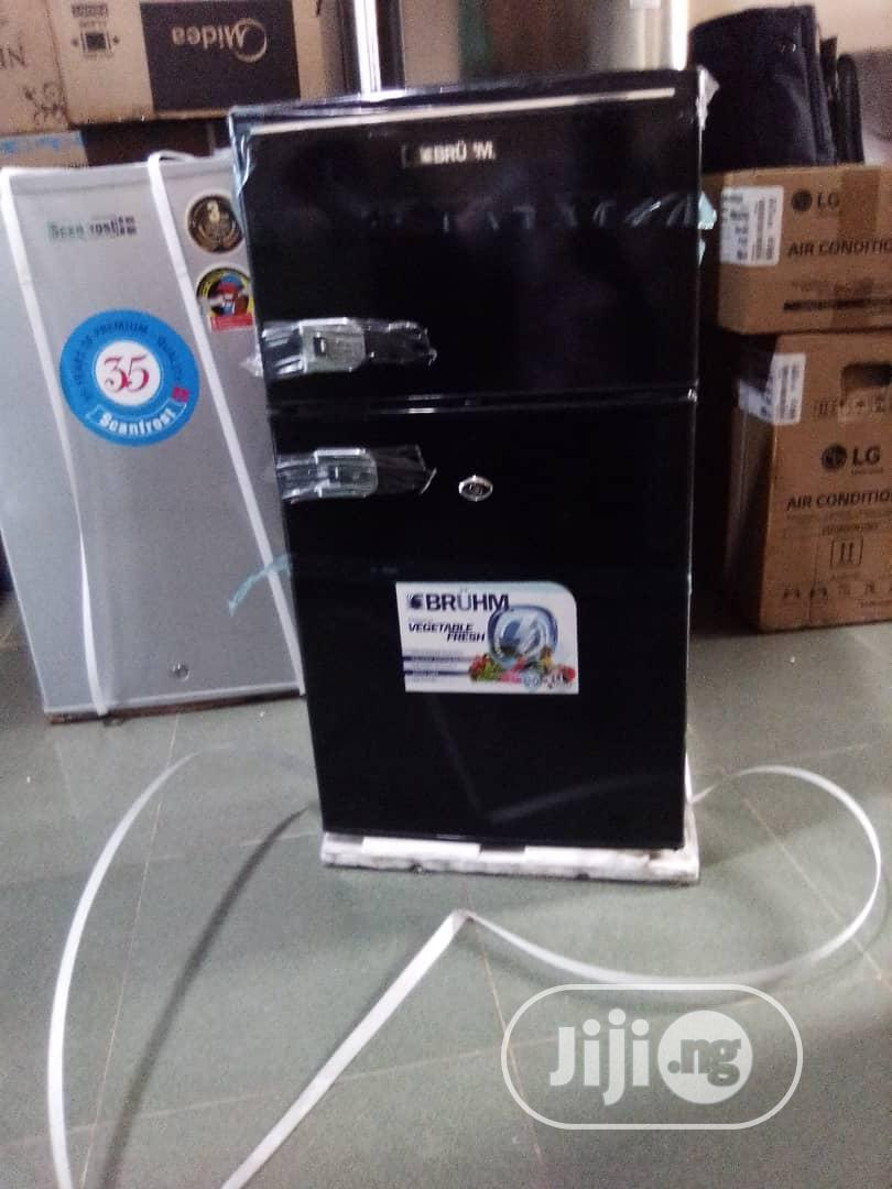 Bruhm Refrigerat Double Door 120L-BRD-120   Kitchen Appliances for sale in Central Business Dis, Abuja (FCT) State, Nigeria