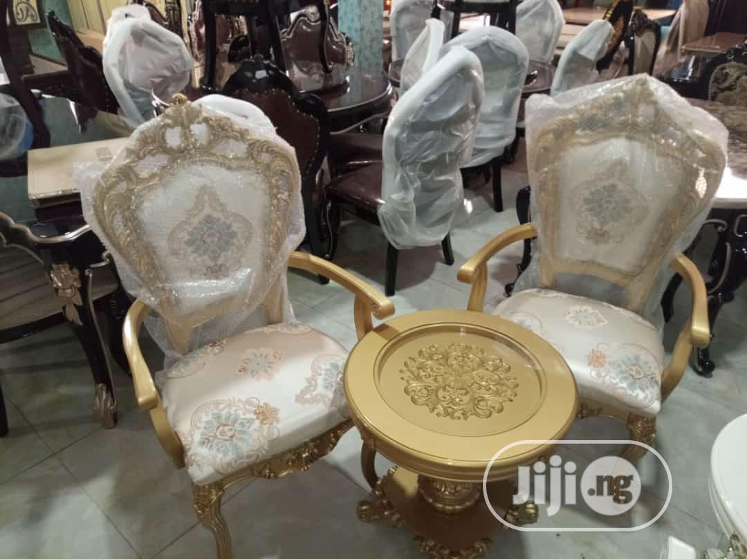 Royal Me And You Console Chairs