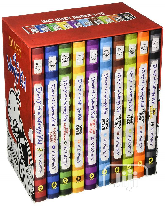 Diary Of A Wimpy Kid Box Of Books (Books 1-10) | Books & Games for sale in Oshodi, Lagos State, Nigeria