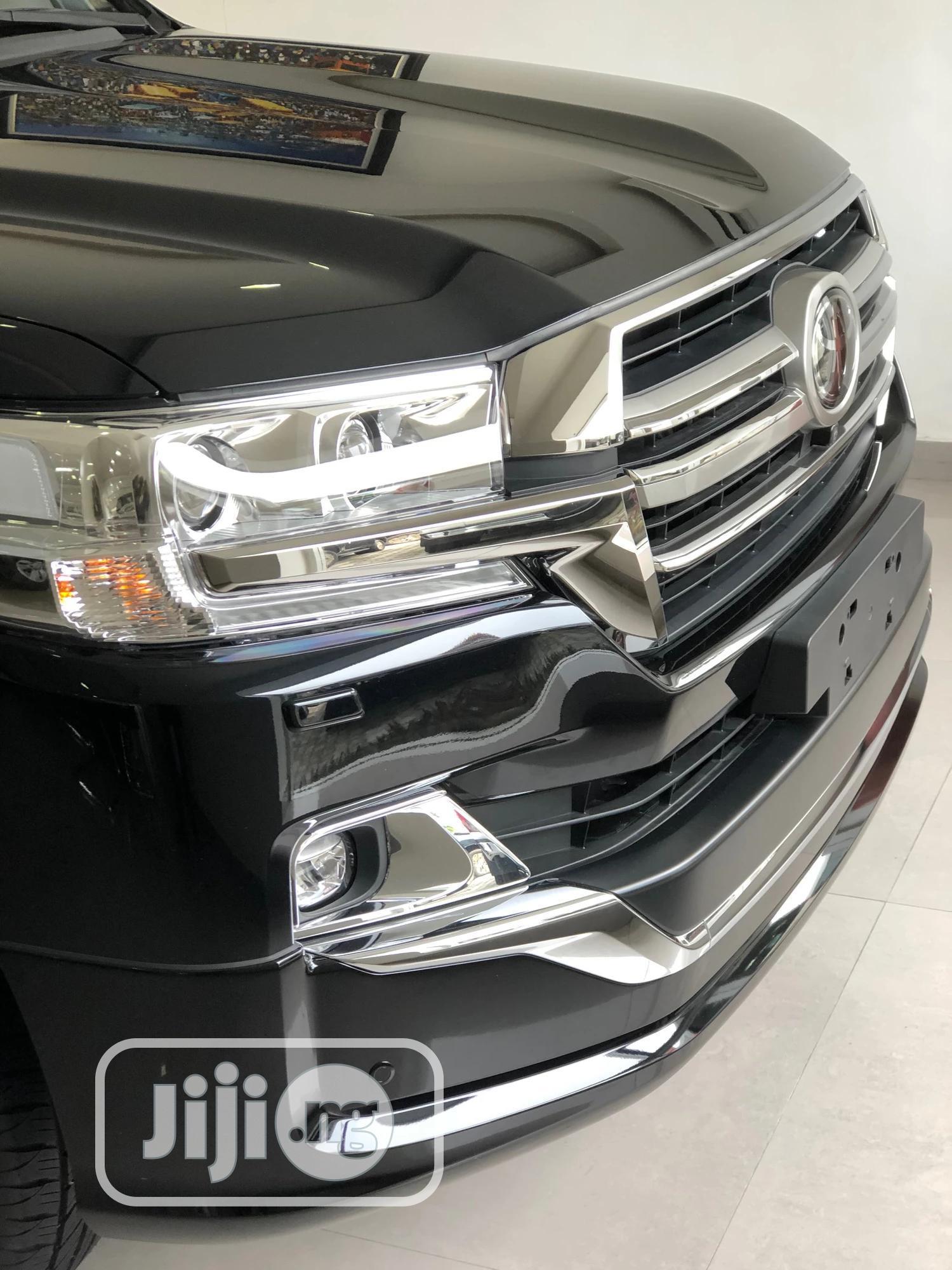 New Toyota Land Cruiser 2020 Black