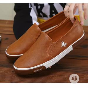 Men Casual Shoes Loafers Breathable Flats Shoes Slip | Shoes for sale in Lagos State, Oshodi