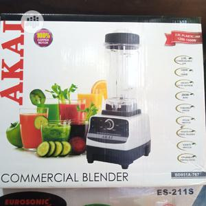 AKAI Heavy Duty Commercial Blender With Ice Crusher- 1500W | Restaurant & Catering Equipment for sale in Lagos State, Ojo
