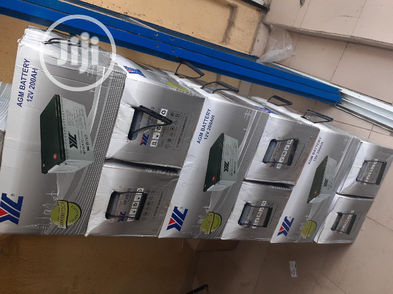 12v 200ah Jyc Battery Available