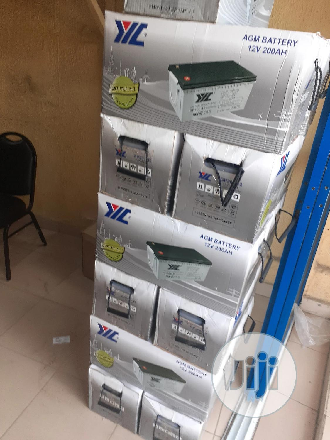 12v 200ah Jyc Battery Available | Solar Energy for sale in Ojo, Lagos State, Nigeria