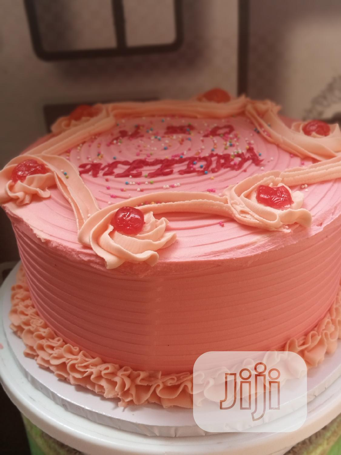 Buttercream Frost Fluffy Cakes | Party, Catering & Event Services for sale in Lagos Island, Lagos State, Nigeria