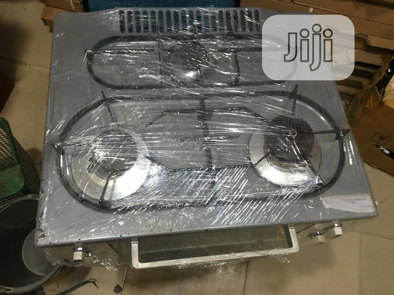 Gas Burner With Oven