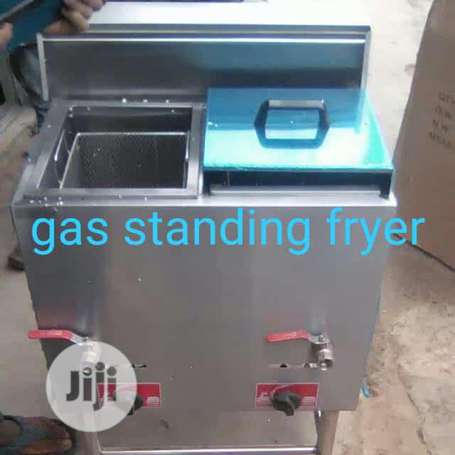 Archive: Gas Standing Fryer Double Basket