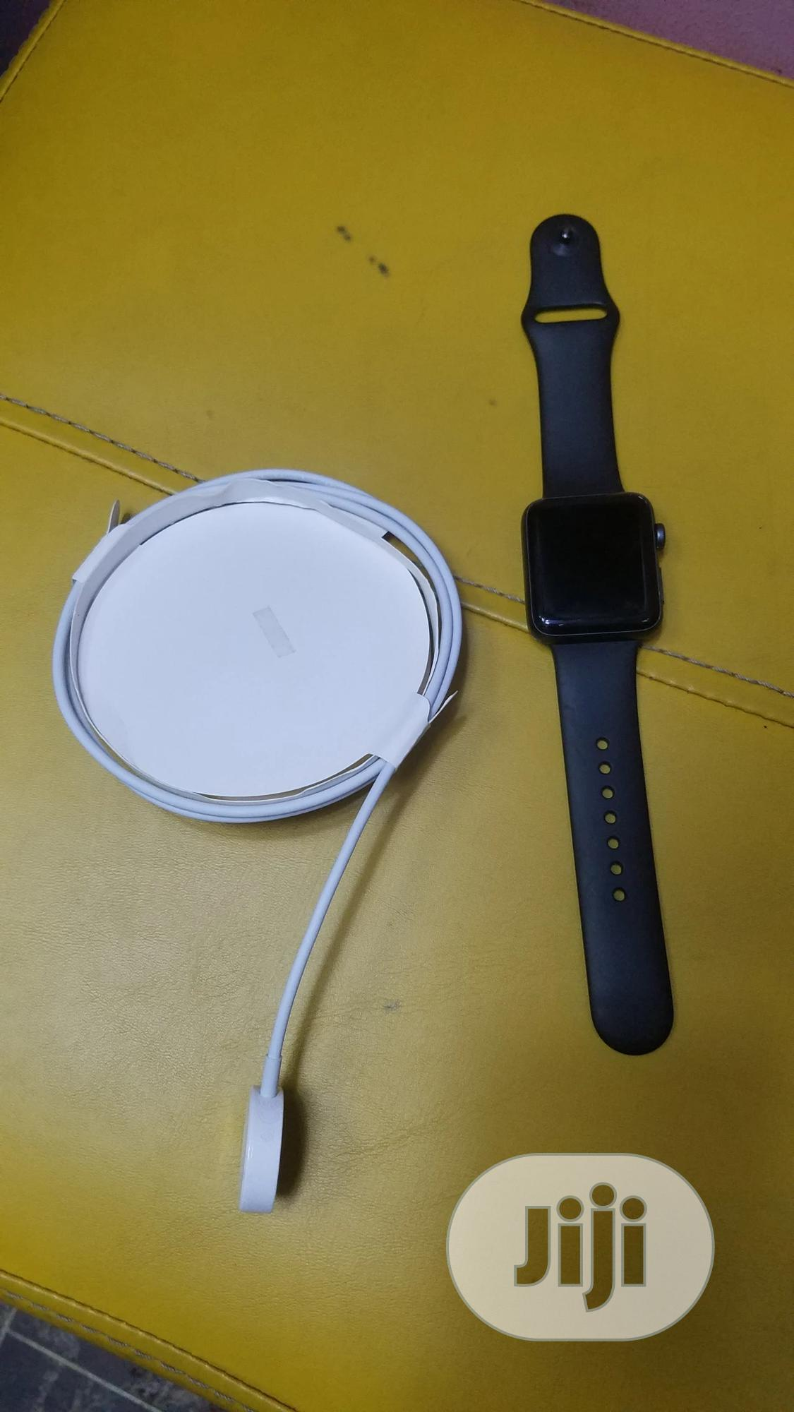 Apple Iwatch Series 3 42mm | Smart Watches & Trackers for sale in Ikeja, Lagos State, Nigeria