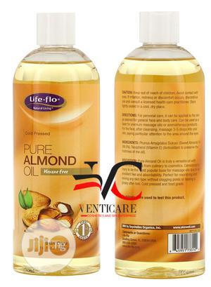 Life-flo Pure Almond Oil Skin Care 16 Fl Oz (473 Ml) | Skin Care for sale in Lagos State, Ojo
