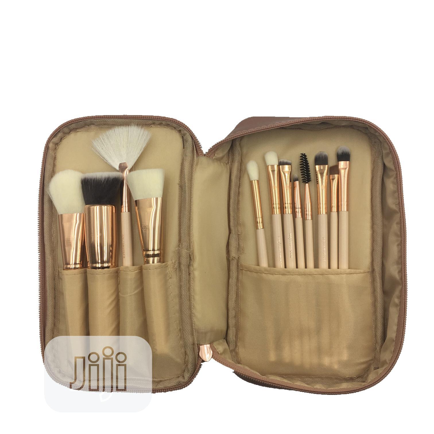 Archive: 15pcs Makeup Brush Set Quality Brown Red Pink Brush Set Zoeva Makeup