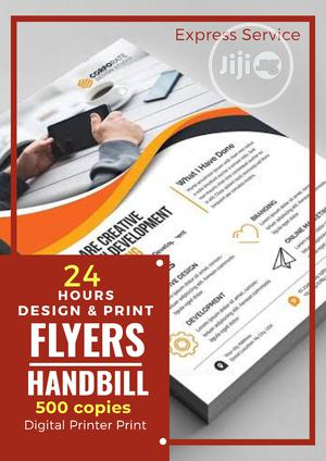 500 Copies A5 Size of Quality Design Print Flyer/Handbill   Printing Services for sale in Lagos State, Alimosho
