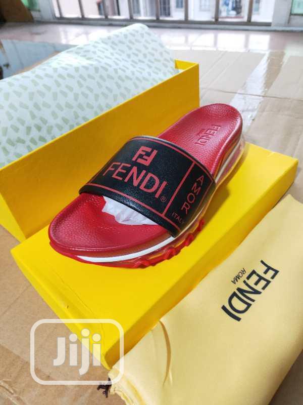 Archive: Fendi Roma Slippers