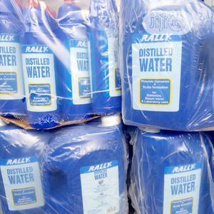 Rally Distilled Water For Tubular Battery,Laboratory Use | Manufacturing Materials for sale in Lagos State, Oshodi