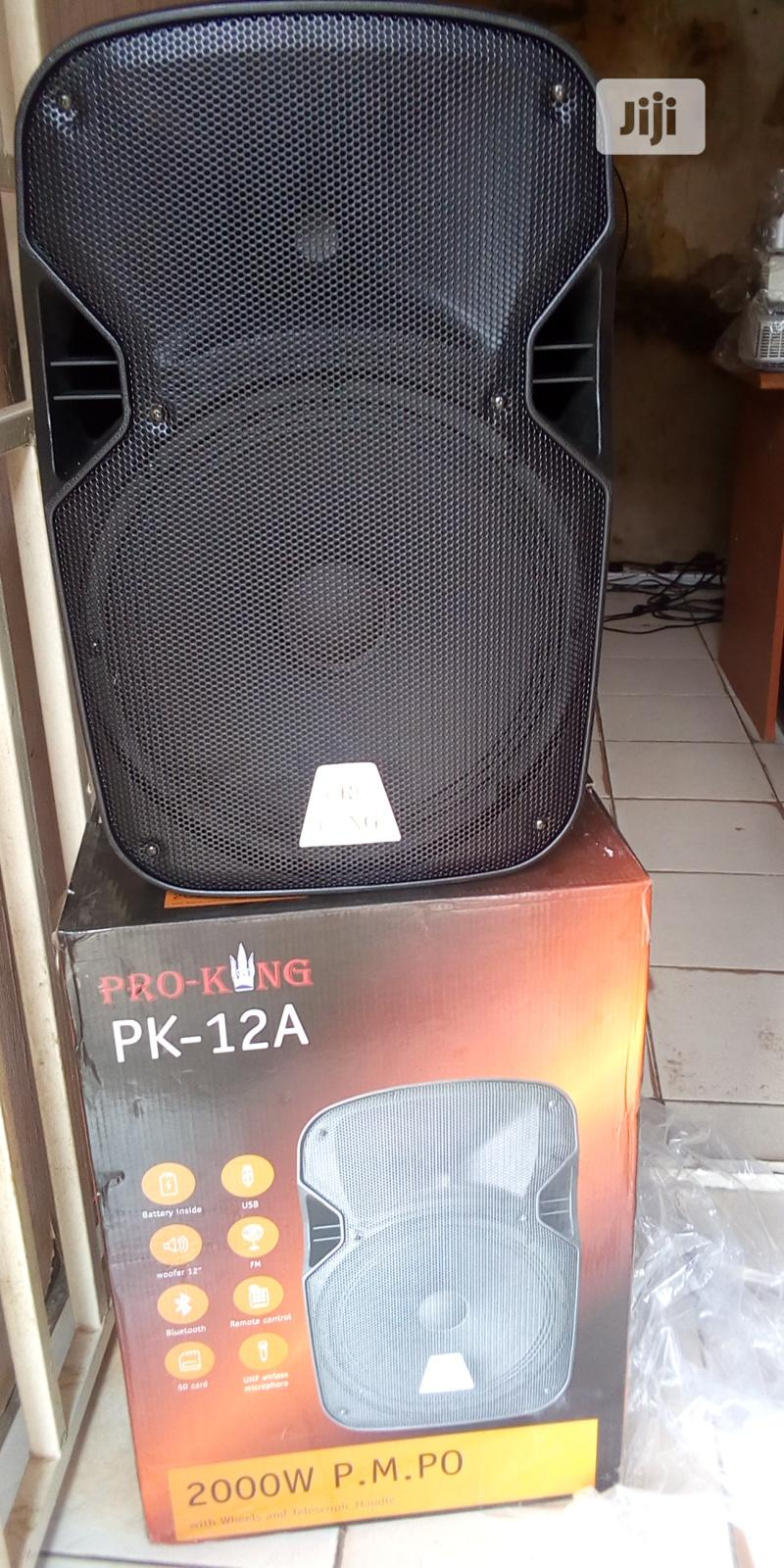 Pro-King Speaker