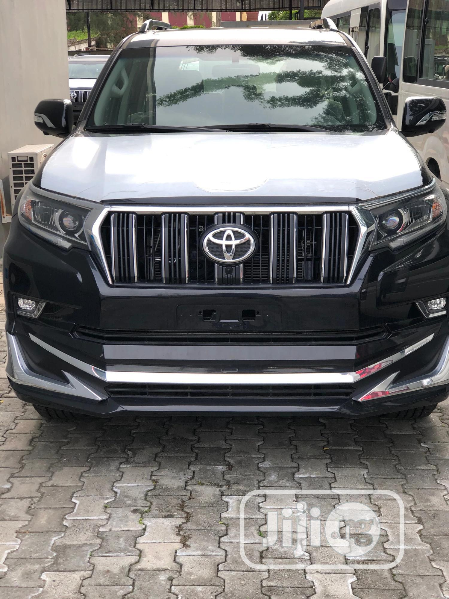 Archive: New Toyota Land Cruiser Prado 2020 Black