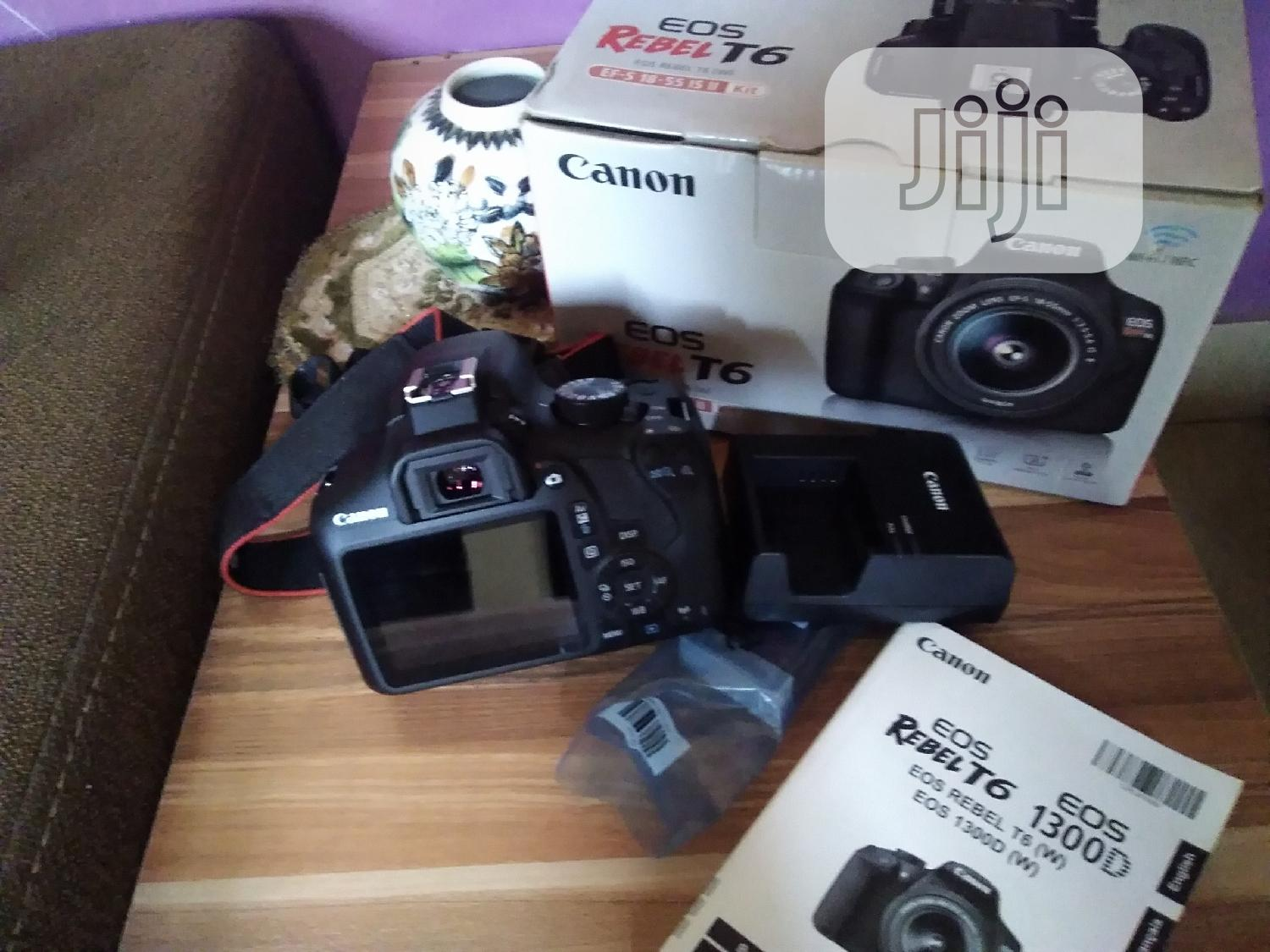 Canon EOS 1300D Rebel T6 Body Only | Photo & Video Cameras for sale in Alimosho, Lagos State, Nigeria