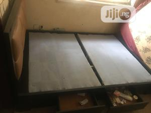 4.5 By 6 Bed Frame Few Weeks Used   Furniture for sale in Abuja (FCT) State, Lokogoma