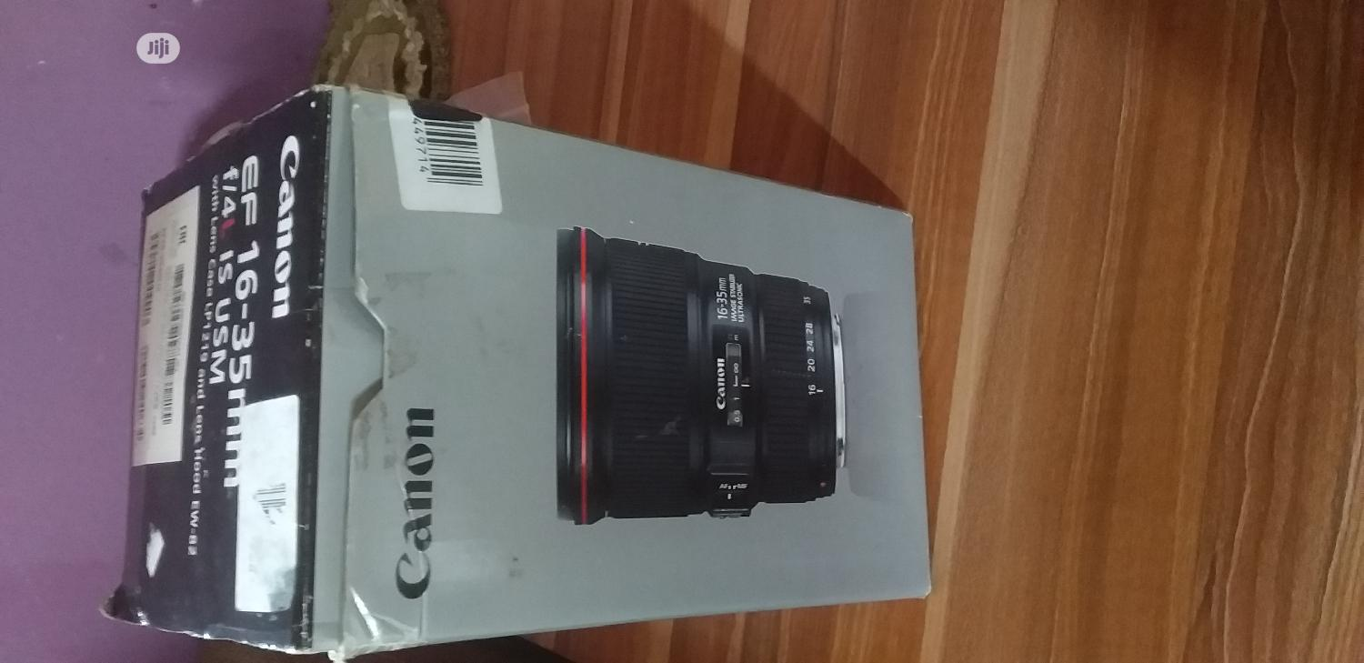 Canon 16-35mm Lens | Accessories & Supplies for Electronics for sale in Alimosho, Lagos State, Nigeria