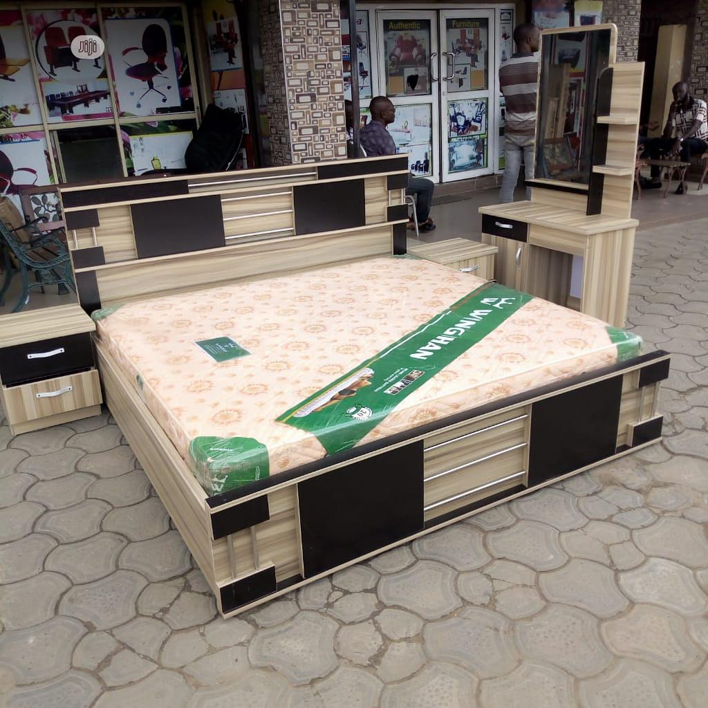 Original Family Size Bed 6x6 With Mouka Foam