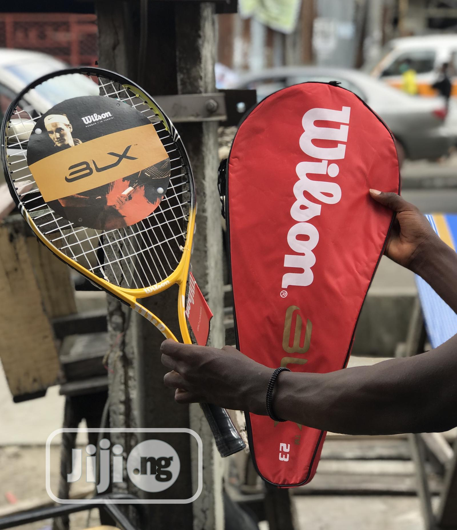 Wilson BLX Lawn Tennis Racket