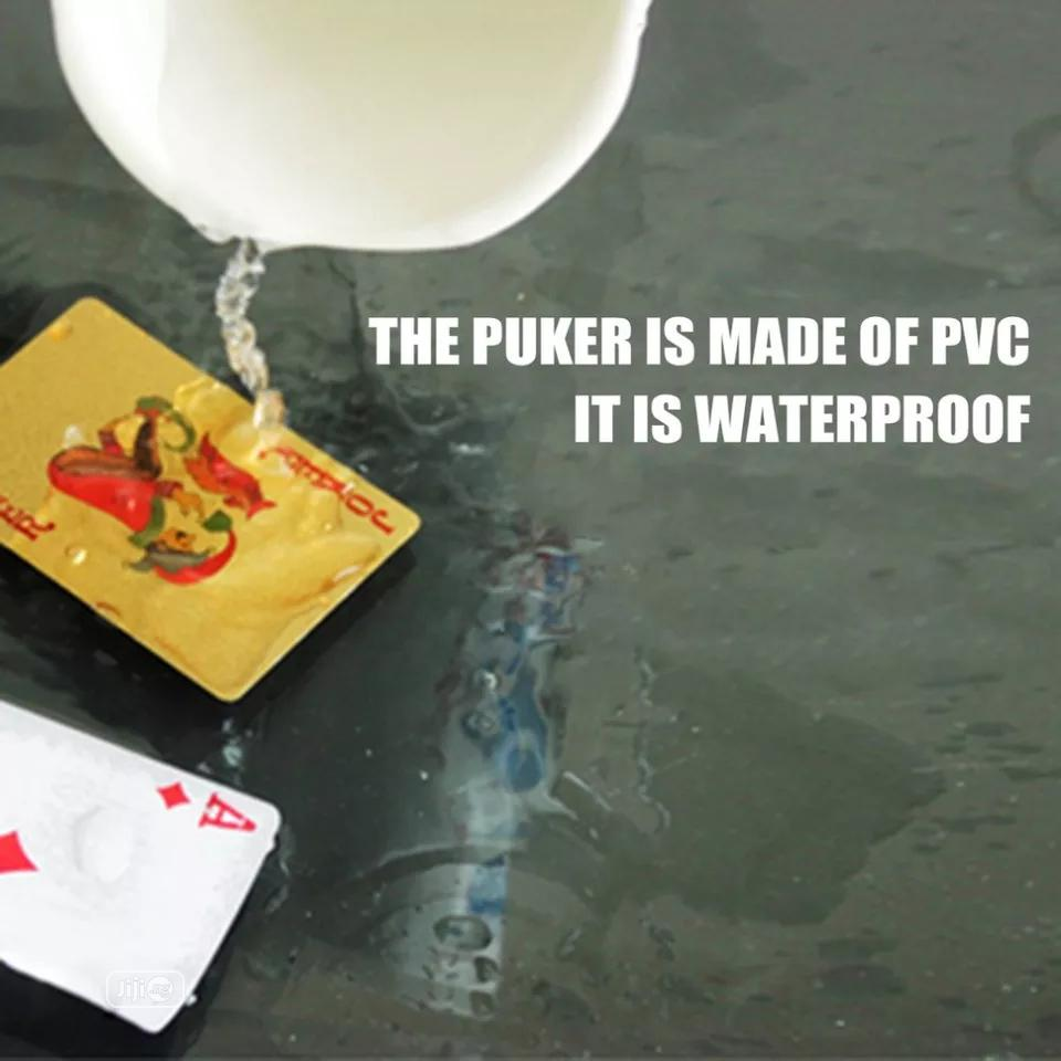 Plastic Poker Playing Cards Waterproof Cards | Books & Games for sale in Ikeja, Lagos State, Nigeria
