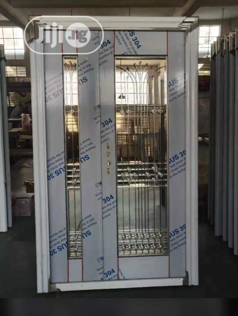 Quality German Stainless Steel Glass Door
