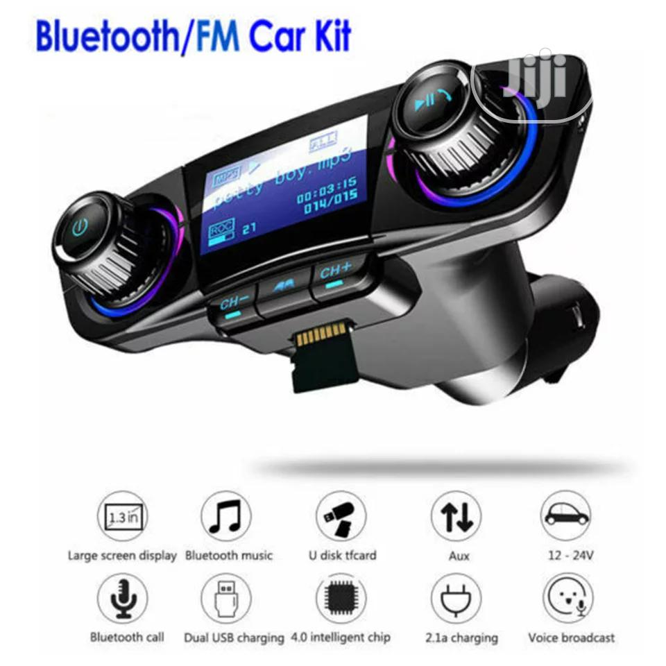 Bluetooth 4.0 Car MP3 Player FM Kit | Vehicle Parts & Accessories for sale in Ikeja, Lagos State, Nigeria