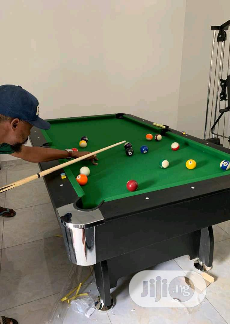 Foreign 8fit Snooker Board With Complete Accessories