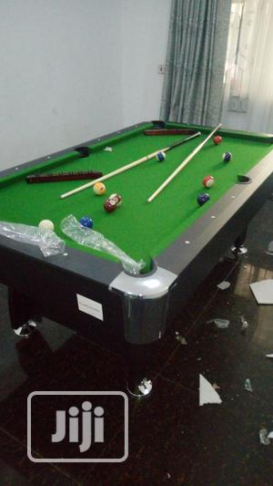 Foreign 8fit Snooker Board With Complete Accessories | Sports Equipment for sale in Lagos State, Ajah