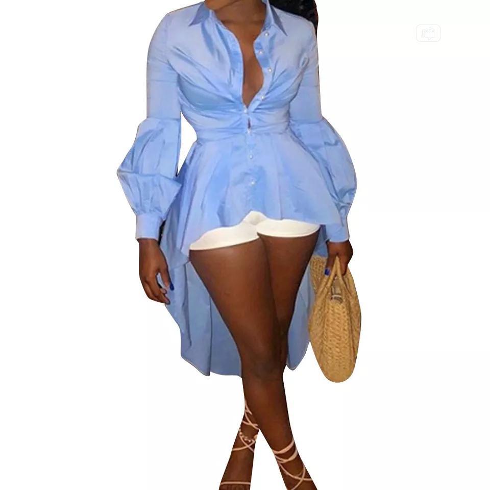 Archive: Long Lantern Shirt Dress