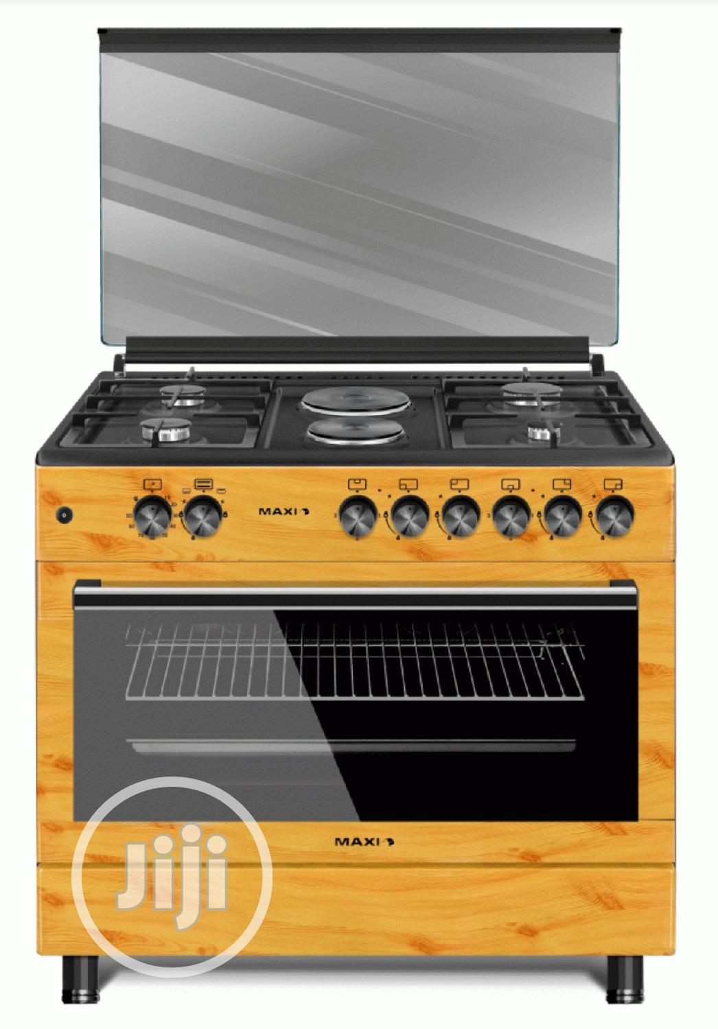 Brand New MAXI Gas Cooker Style 60 * 90 TR (4+2) WOOD