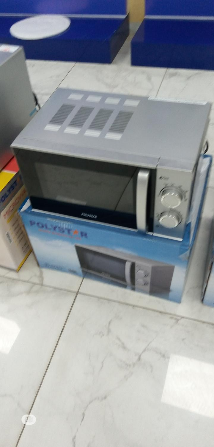Brand New Polystar 20L Microwave Silver Color (PV-NG20LS)