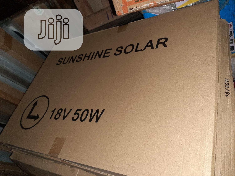 Archive: 18V 50W Sunshine Solar Panels