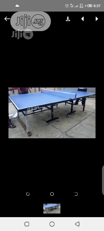 Water Resistant Table Tennis