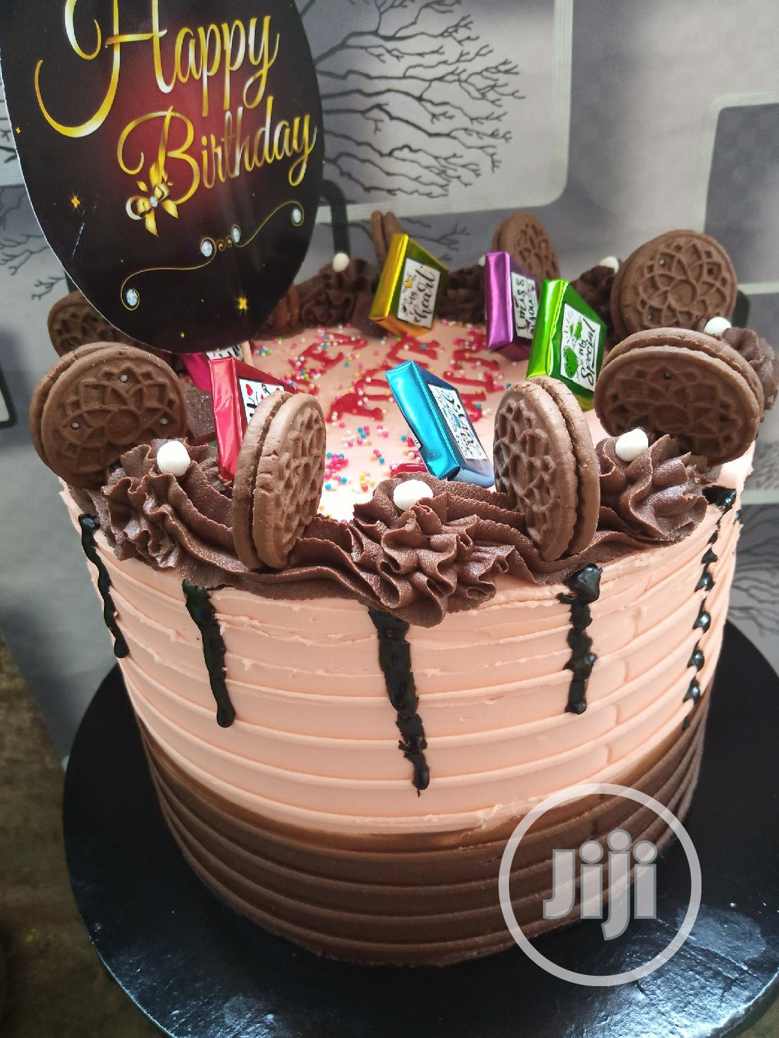 Chocolate Birthday Cakes | Party, Catering & Event Services for sale in Lagos Island, Lagos State, Nigeria
