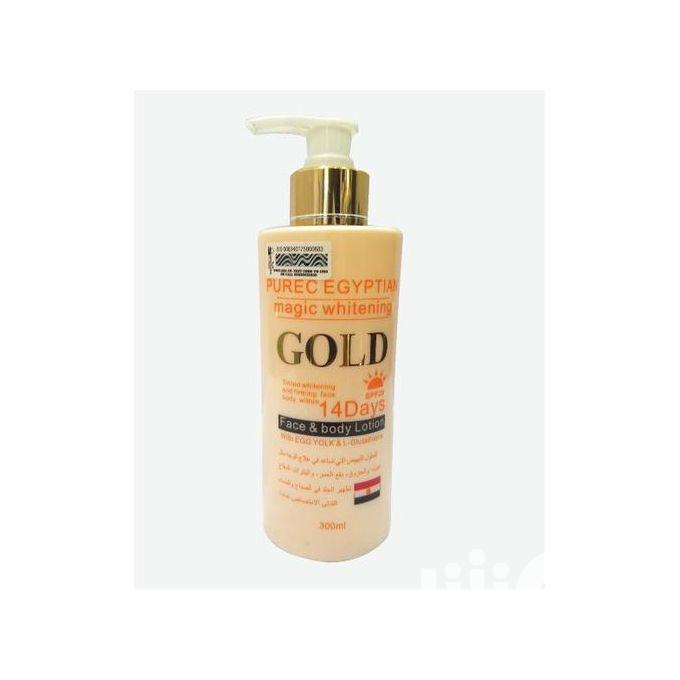 Pure Egyptian Magic Whitening GOLD Face Body Lotion