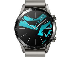 GT 2 46mm Titanium Grey Metal Smart Watch   Smart Watches & Trackers for sale in Lagos State, Ikeja