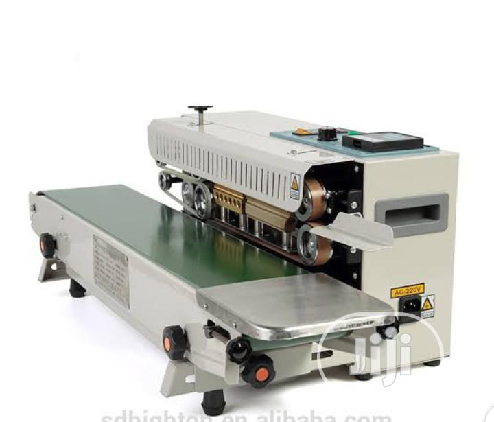 Archive: Continuous Sealing Machine. 15kg Maximum Conveyor Loading Capacity.
